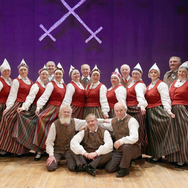 """Zespołu Tańca Ludowego """"Aizkrauklis"""" z Łotwy"""