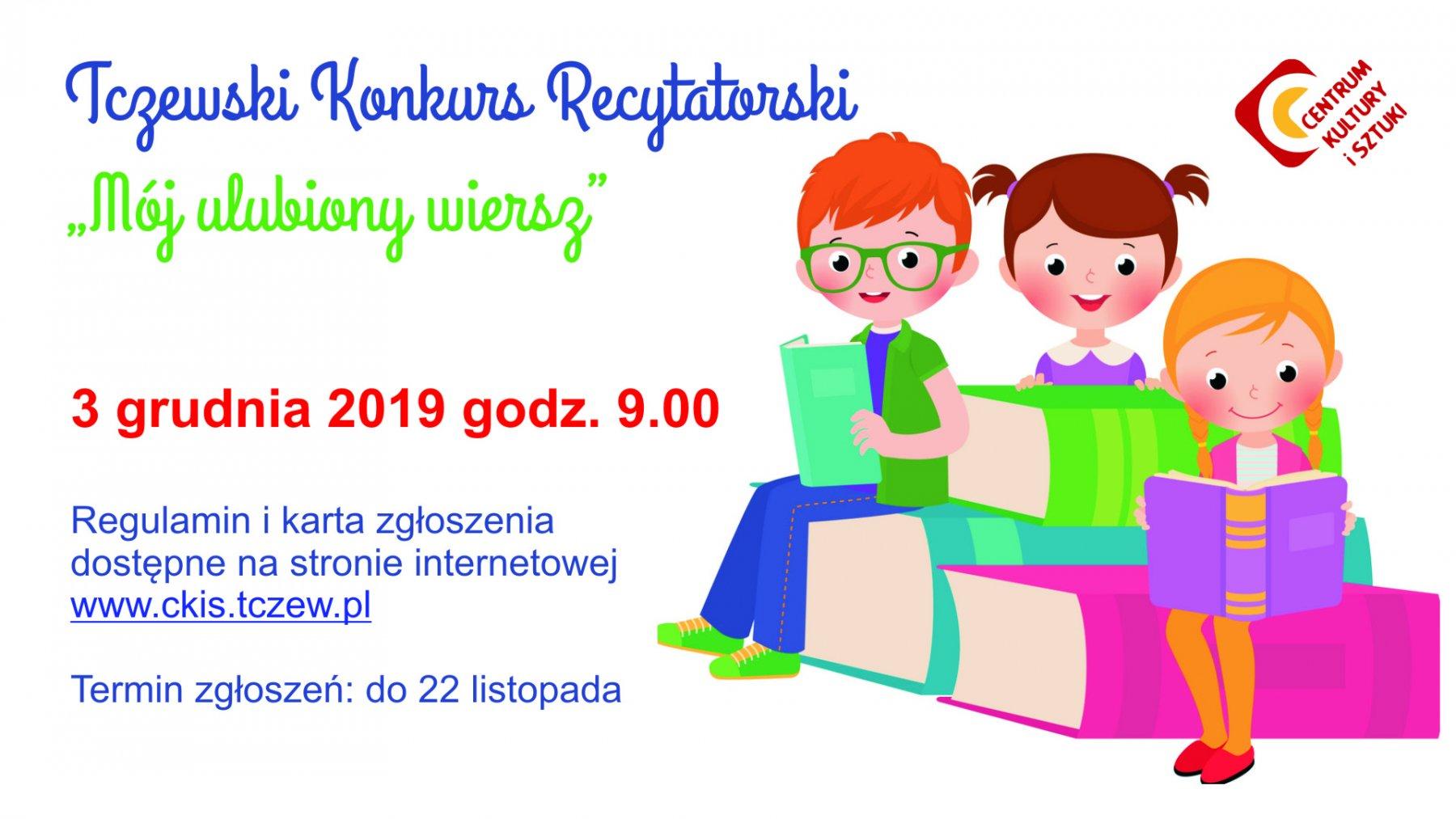 Tczewski Konkurs Recytatorski Mój Ulubiony Wiersz