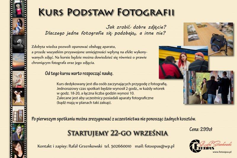 2020-09-22 Kurs fotografii - plakat informacyjny.jpg