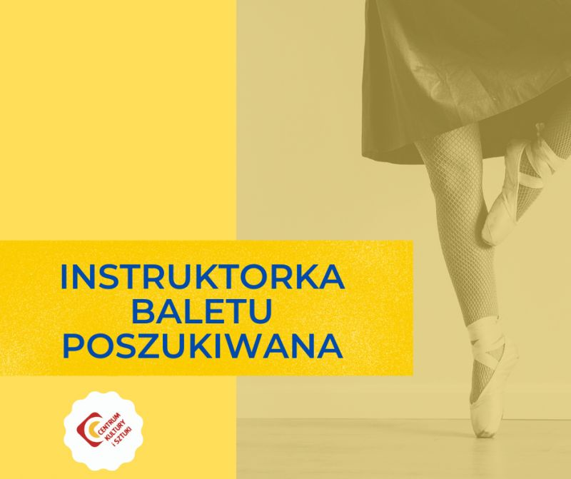 Instruktorka baletu poszukiwana -  Post na Facebook.png